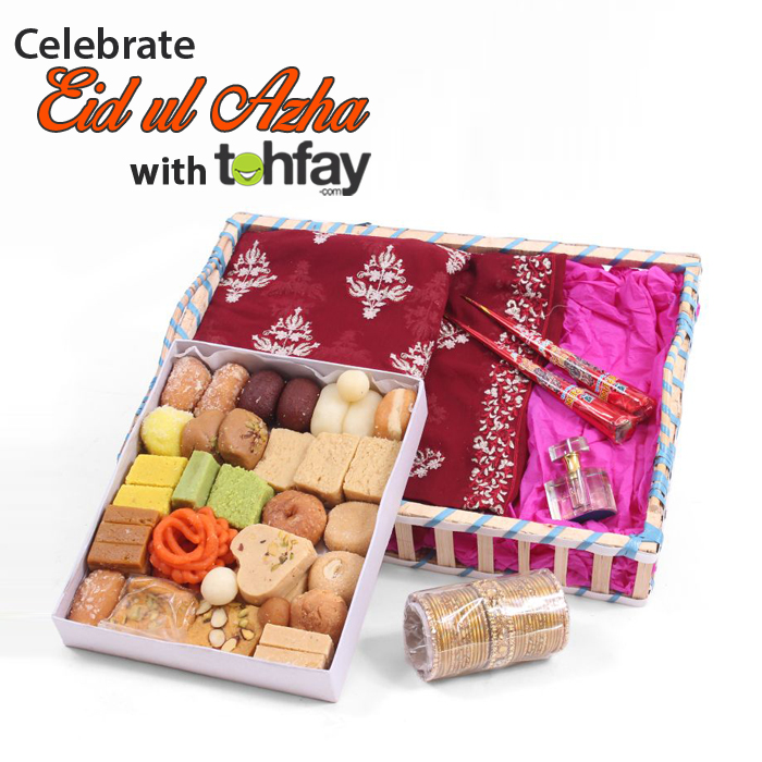 Send Mithai and Clothes as gifts online for Eid
