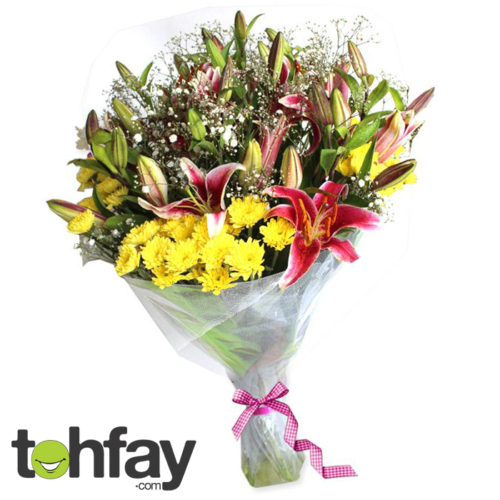 Mix of Exotic Flower Boquet