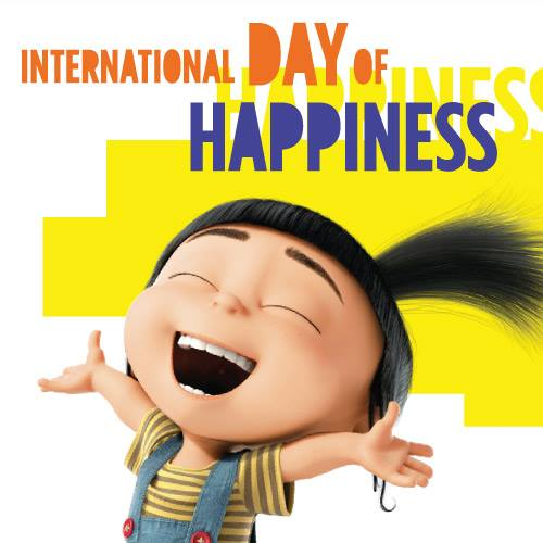Did you Smile today? Happy International Day of Happiness ...