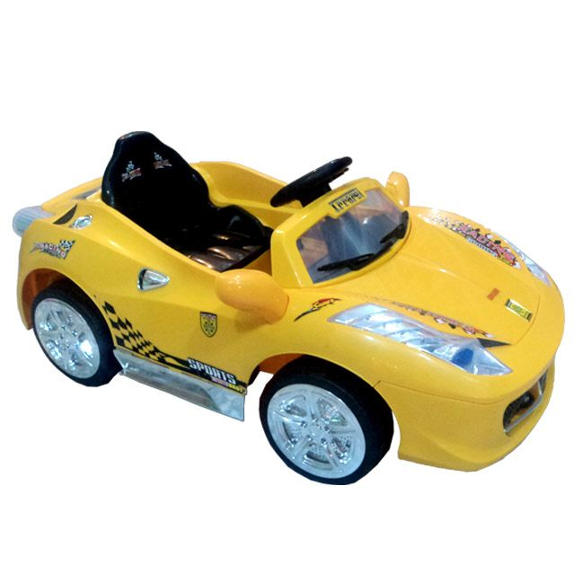 Yellow Rechargeable Car