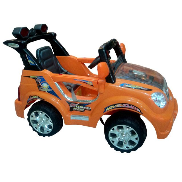 Rechargeable Orange Jeep
