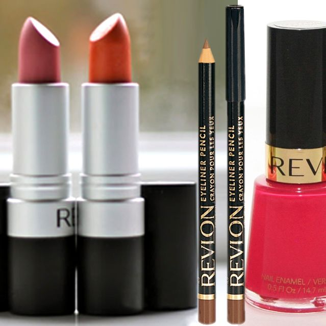 Lipstick And Liner With Nail Polish by Revlon