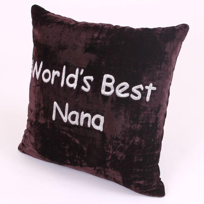 World's Best Nana Cushion
