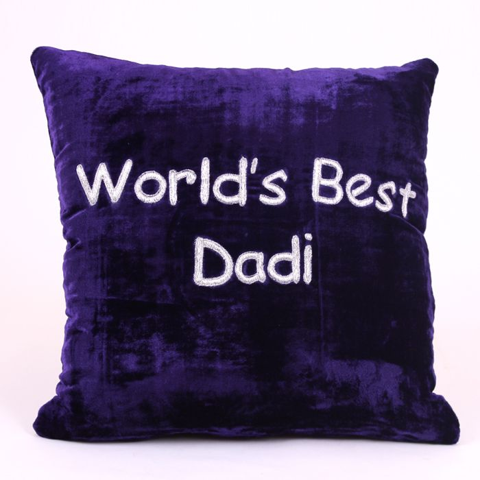 World's Best Dadi Cushion