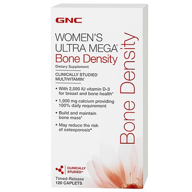 GNC Women's Ultra Mega Bone Density 120 Caple