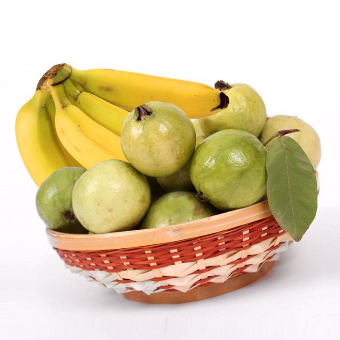 Guava And Banana Basket