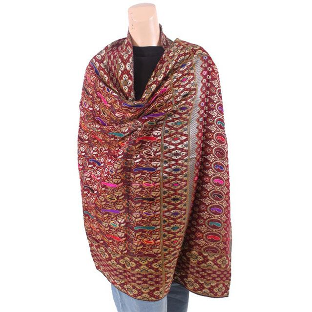 Multi-Color Jamawar Shawl