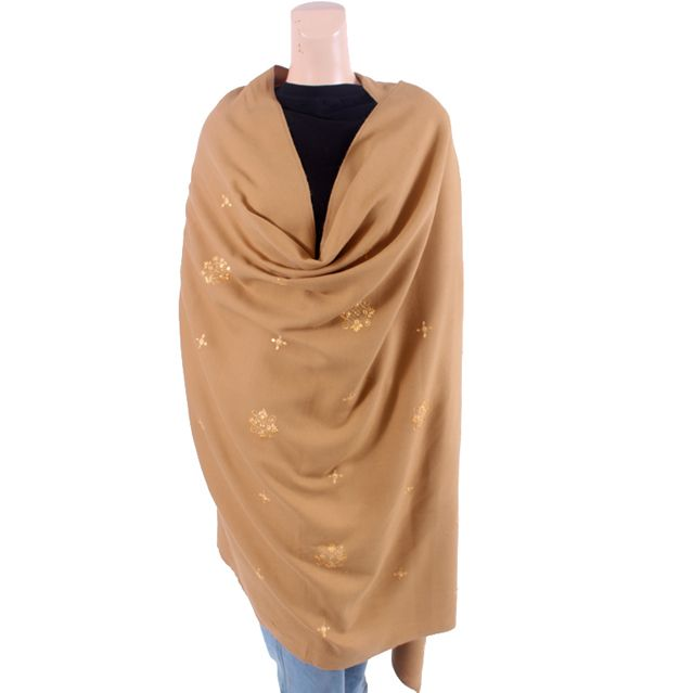 Plain Brown Shawl
