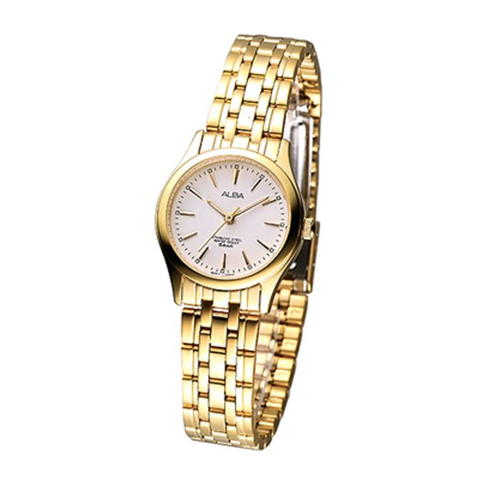Alba Golden Stainless Steel Watch