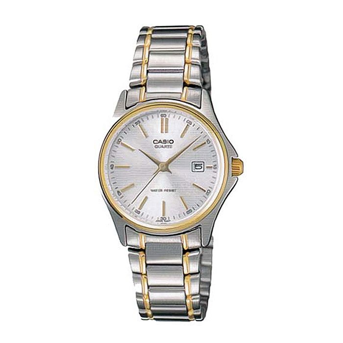 Casio Golden Rim Female Watch