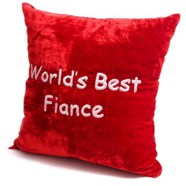 World's Best Fiance Pillow