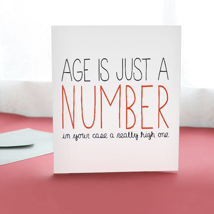 Humor Birthday Card