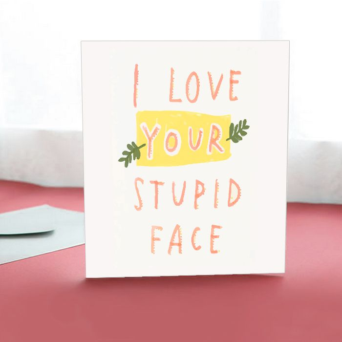 Love you Card II