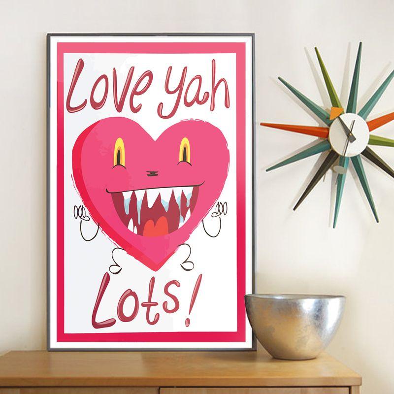 Love Yah Lots Poster
