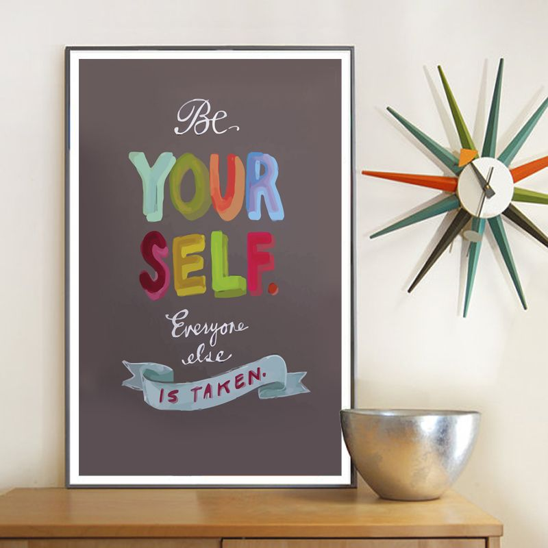 Be Your Self Poster