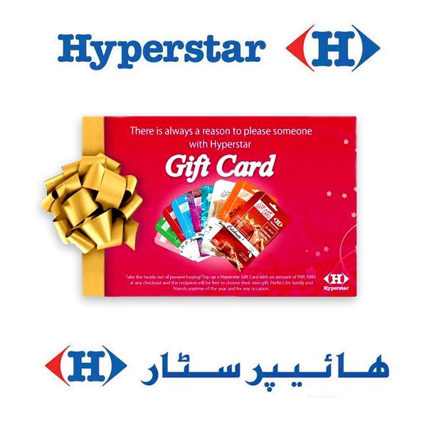 Hyperstar Gift Cards