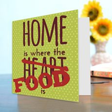 Home Is Where Food Is