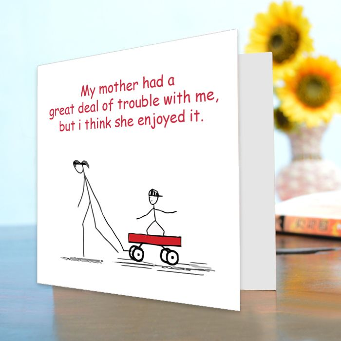 Funny Card For Mother