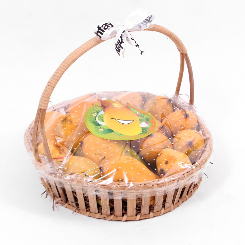 Chaunsa Aam In Round Shaped Cane Basket 4 KG