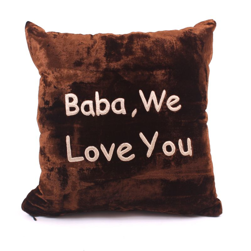 Baba We Love You Cushion