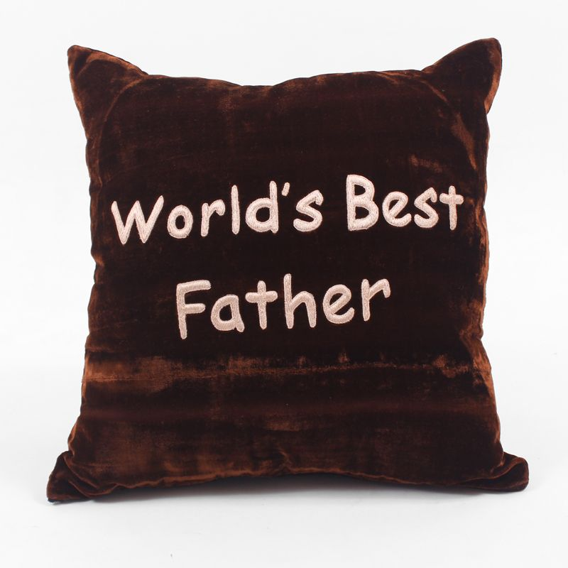 World's Best Father Cushion