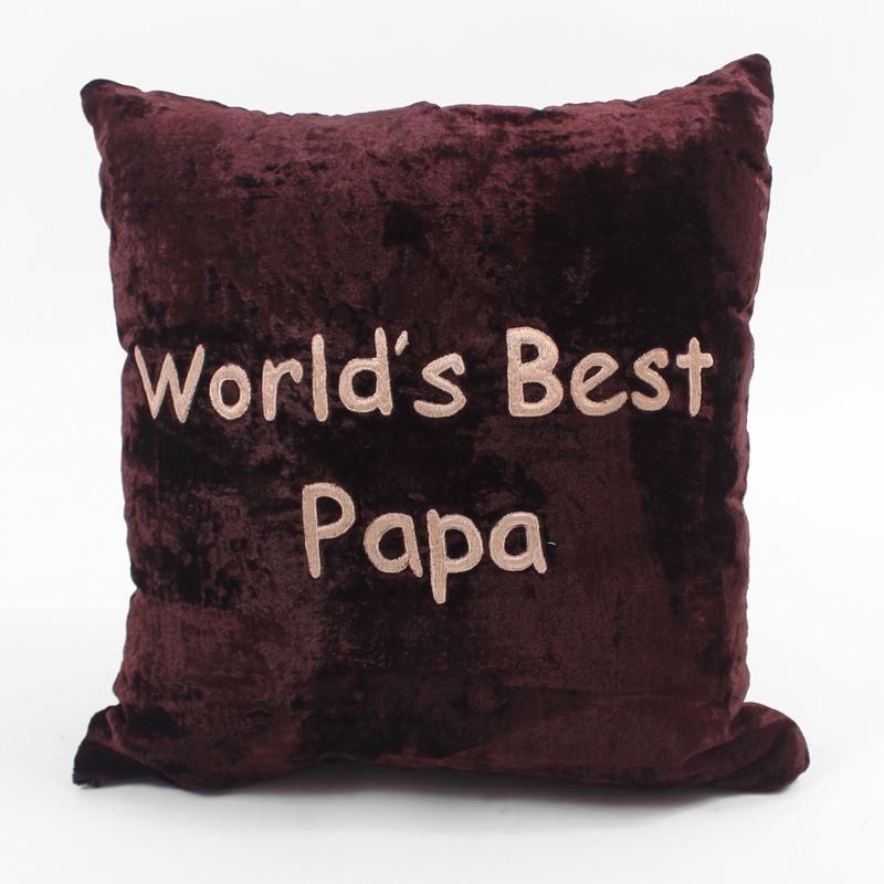 World's Best Papa Cushion