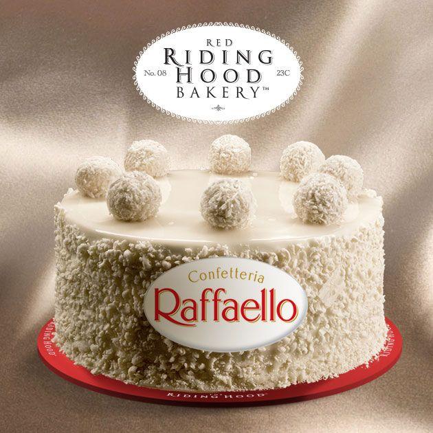 Raffaello Cake from Red Riding Hood Bakery