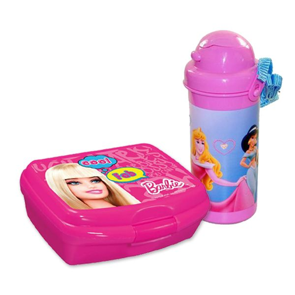 Disney Water Bottle with Lunch Box