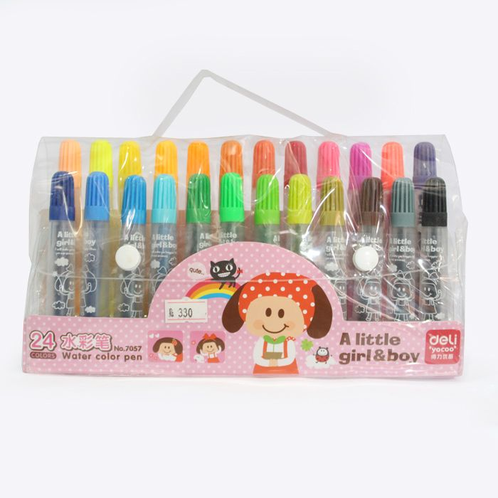 Water Colour Pens - Set of 24