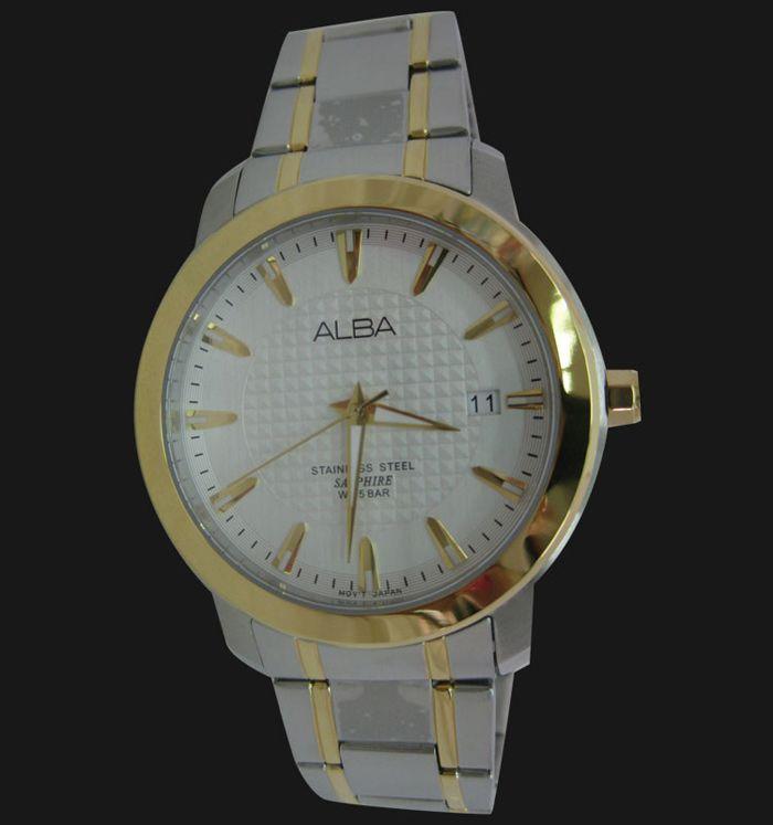 Alba Stainless Steel Sapphire Watch