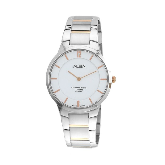 Alba Stainless Steel WR 5 Bar Watch