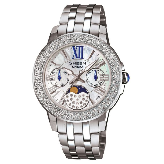 Casio Swarovski Element Watch