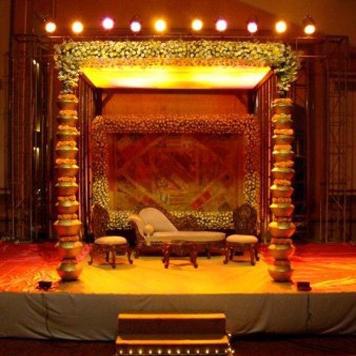 Rich Culture Wedding Stage