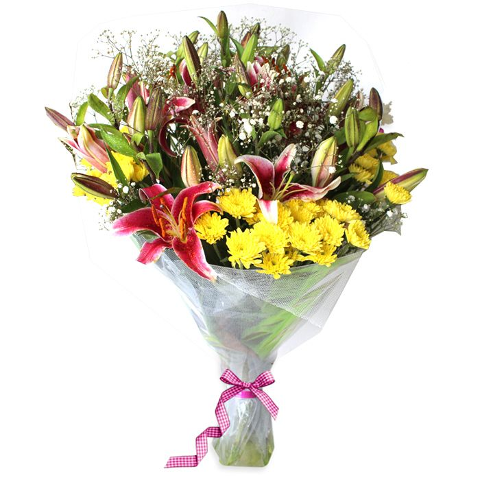 Delux Joyful Bouquet