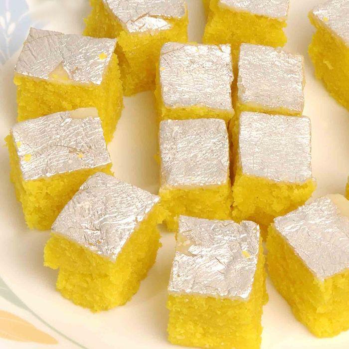 Pineapple Barfi