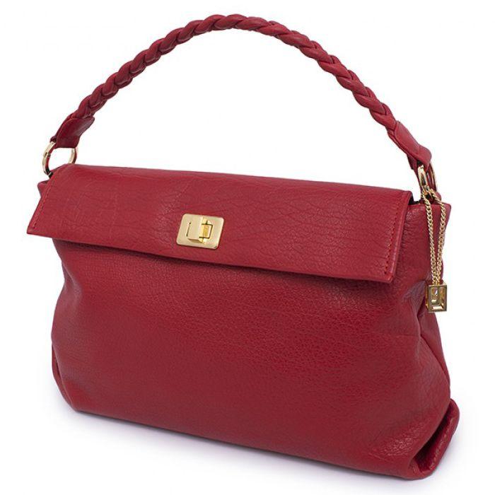 Soft Milled Leather Handbag