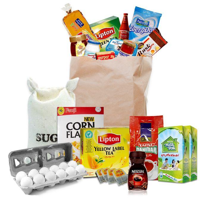 Breakfast Grocery Bag (Weekly Package)