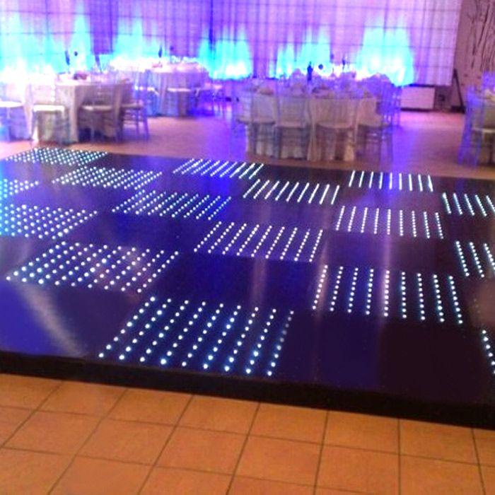 Wedding Dance Floor with LED Lights