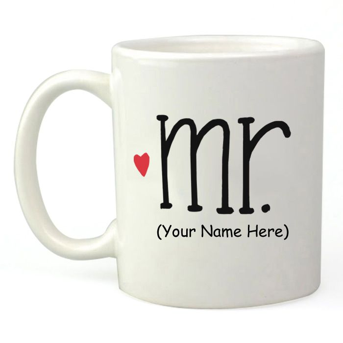 Personalized Mr. Mug