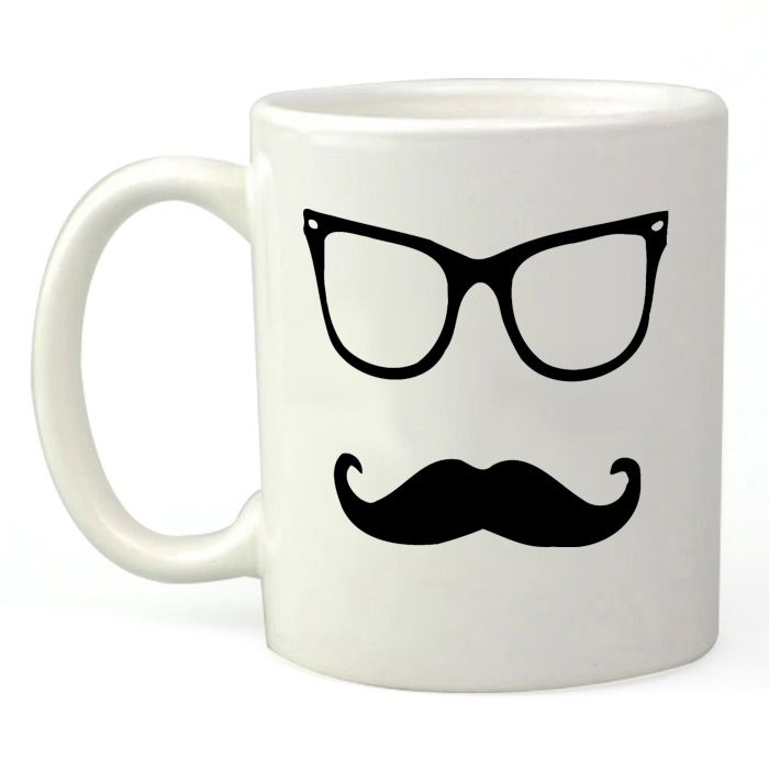 Moustache with Glasses
