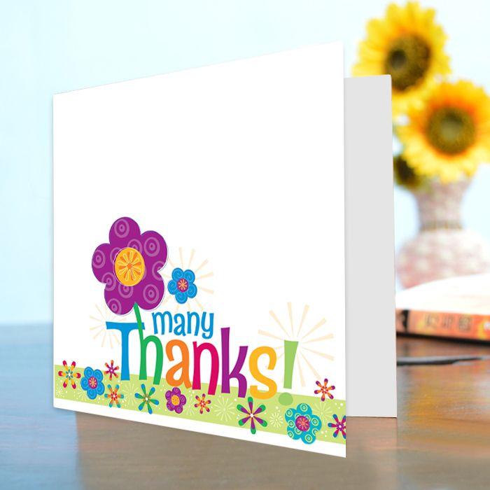 Many Thanks! Card