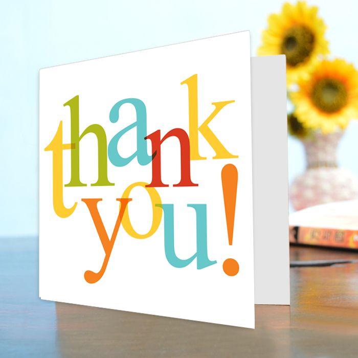 Thank You Card V