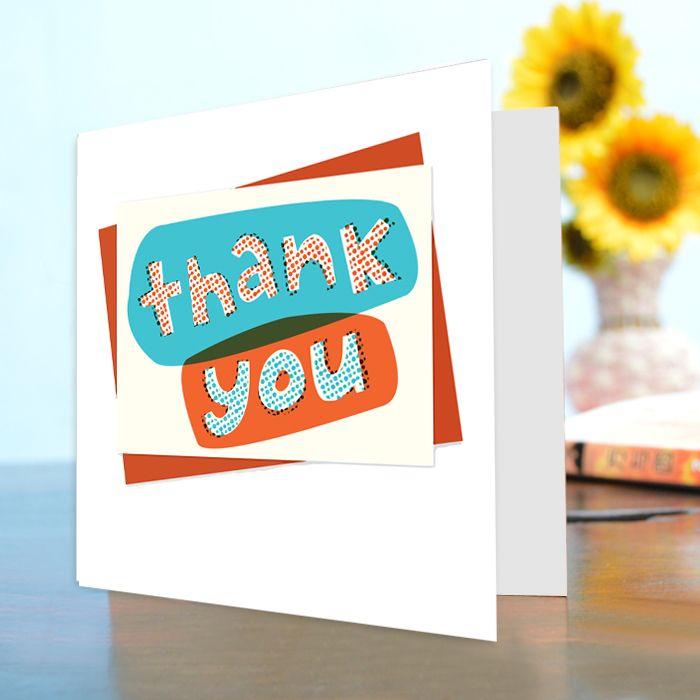 Thank You Card Vl