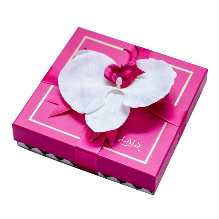 Lals Pink Chocolate Box (16 Pcs)