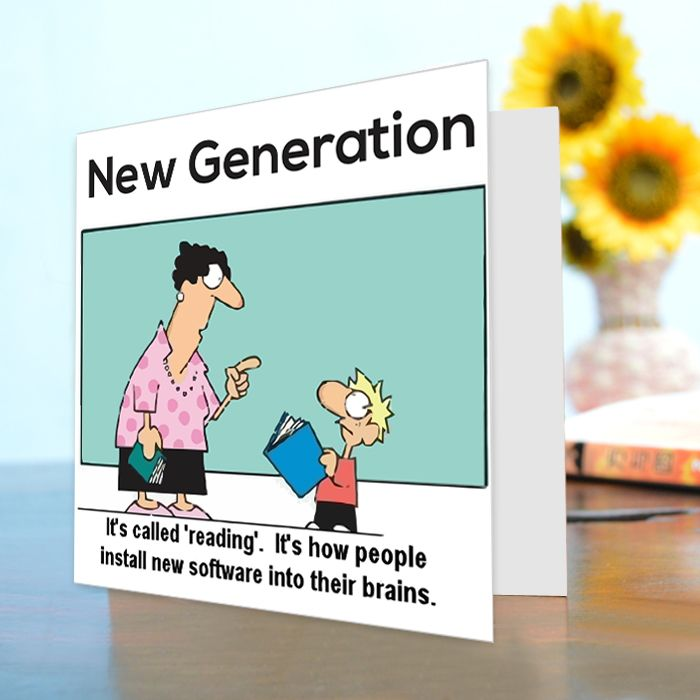 New Generation Funny Card