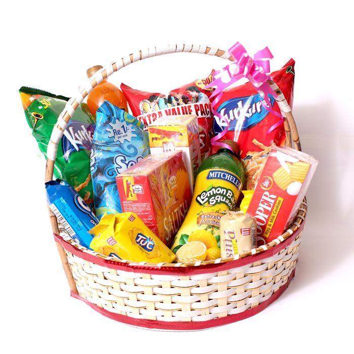 Sweet & Salty Treat Gift Basket