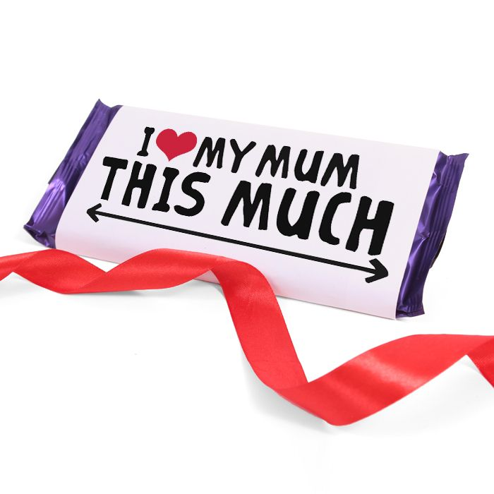 I Love My Mum Chocolate Bar