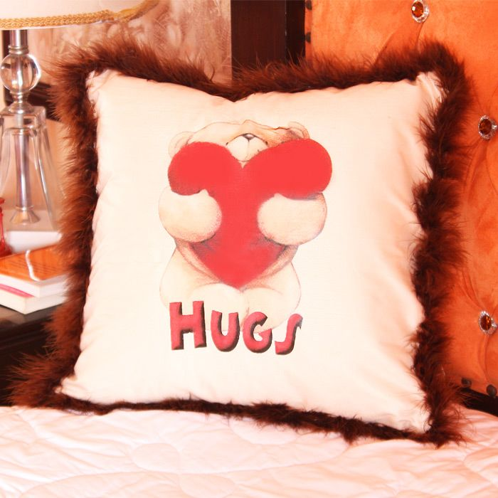Bear Hug Cushion