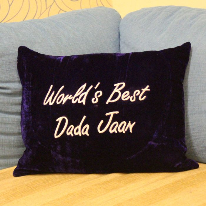 World's Best Dada Jaan Cushion