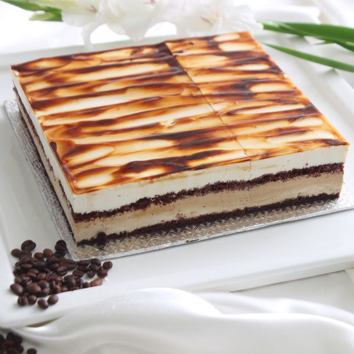 Cappuccino Toffee Cake From Movenpick